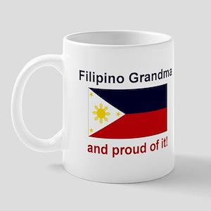 Proud Filipino Grandma Mug