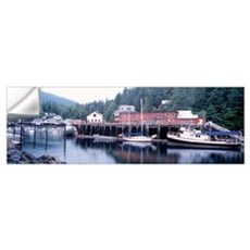 Telegraph Cove Vancouver Island British Columbia C Wall Decal