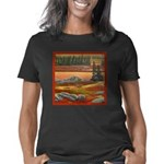 polar bear arctic landscap Women's Classic T-Shirt