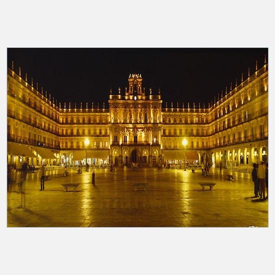 Plaza Mayor Castile and Leon Salamanca Spain