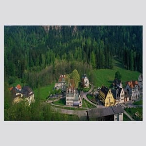 Village of Hohen-Schwangau Bavaria Germany