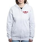 USCG Girlfriend Women's Zip Hoodie