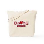 USCG Girlfriend Tote Bag