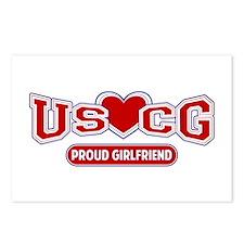 USCG Girlfriend Postcards (Package of 8)