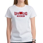 USCG Wife Women's T-Shirt