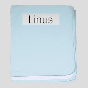 Linus baby blanket
