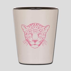 Pink Leopard. Shot Glass