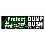 Protect the Environment Bumper Sticker