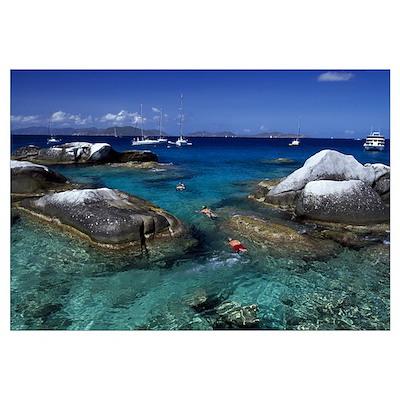 Virgin Gorda British Virgin Islands Poster