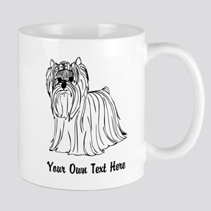 Yorkshire Terrier, Add Text. Mug