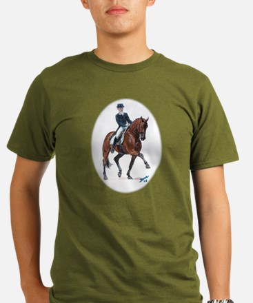 Dressage horse painting. T-Shirt