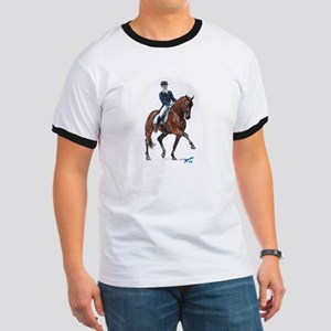 Dressage horse painting. Ringer T