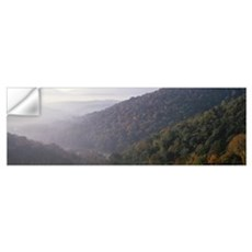 Fall Foliage and Hillsides Allegany Co Early Morni Wall Decal