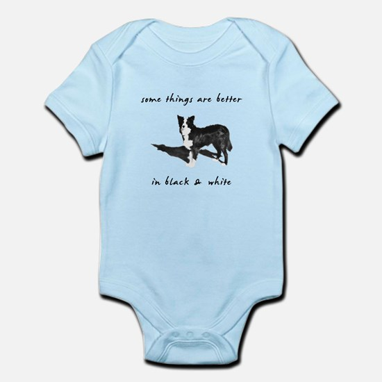 Border Collie Better Infant Bodysuit