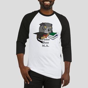 Custom Owl Graduate Baseball Jersey