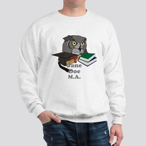 Custom Owl Graduate Sweatshirt