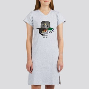 Custom Owl Graduate Women's Nightshirt