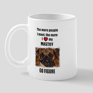THE MORE I LOVE MY MASTIFF Mug