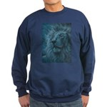 Ghostly Lion Sweatshirt (dark)