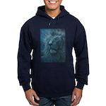 Ghostly Lion Hoodie (dark)