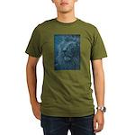 Ghostly Lion Organic Men's T-Shirt (dark)