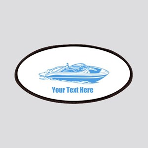 Motorboat. Add Your Text. Patches