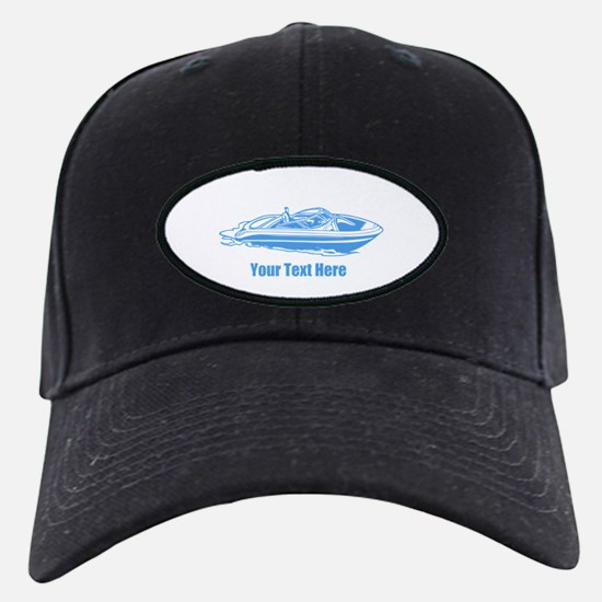 Motorboat. Add Your Text. Baseball Hat