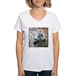 Grace in the Design Women's V-Neck T-Shirt
