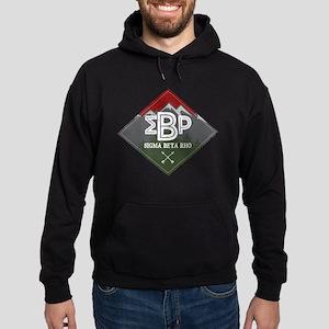 Sigma Beta Rho Mountains Diamond Hoodie (dark)
