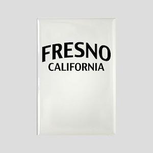 Fresno California Rectangle Magnet