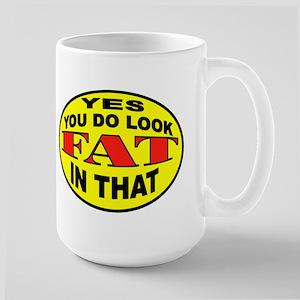 EXERCISE Large Mug