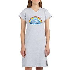Happy Rainbows Women's Nightshirt