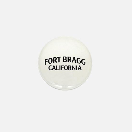 Fort Bragg California Mini Button