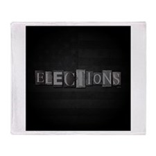 Elections Throw Blanket