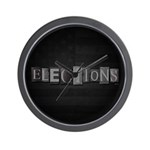 Elections Wall Clock