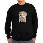 Jesus Face V1 Sweatshirt (dark)