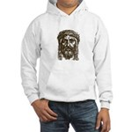 Jesus Face V1 Hooded Sweatshirt