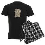 Jesus Face V1 Men's Dark Pajamas