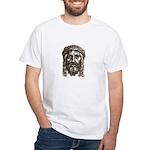 Jesus Face V1 White T-Shirt