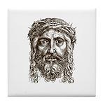 Jesus Face V1 Tile Coaster