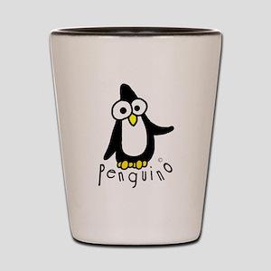 Penguino Gear Shot Glass