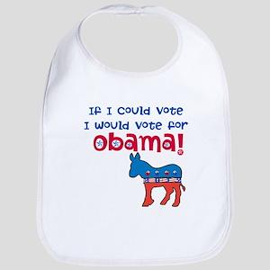 If I Could Vote Bib