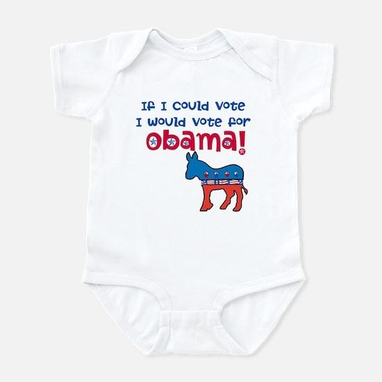 If I Could Vote Infant Bodysuit