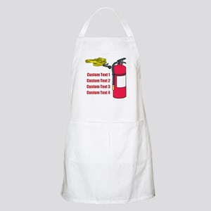 Fire Fighting Equipment Image Apron