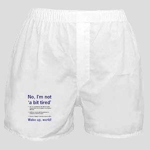 ME Awareness Boxer Shorts