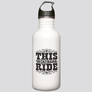 This is a dark ride Stainless Water Bottle 1.0L