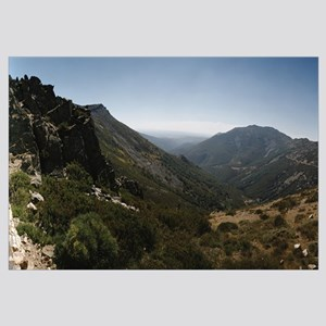 High angle view of mountains, Pena De Francia, Sie