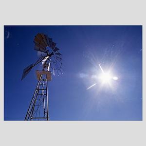 Sunstar And Windmill
