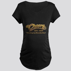 Cheers Maternity Dark T-Shirt
