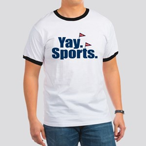 Yay Sports Meh Ringer T